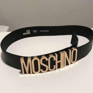 'MOSCHINO' belt!