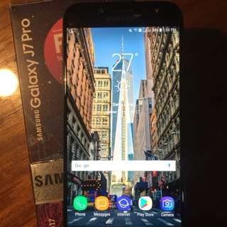 Samsung Galaxy j7 pro with warranty