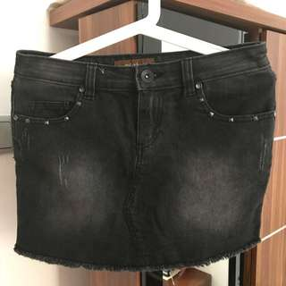 Jeans skirt colorbox