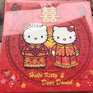 Hello kitty wedding album