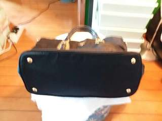 Real Prada handbag with long strap