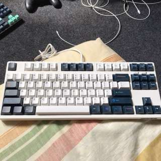 Filco Majestouch 2 Cream Green MX Brown Keyboard