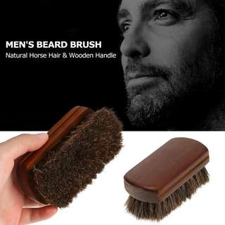HAWKE Horse Hair Beard Brush