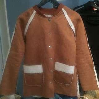 暖暖卡其外套
