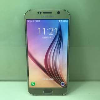 Samsung S6 64G。直屏,金色白色,藍色。外觀新淨,冇崩損(如圖),7日壞機可換。