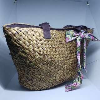 Wicker Shoulder Bag