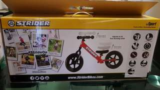 STRIDER BIKE COMES WITH HELMET & KNEES AND ELBOWS PROTECTION