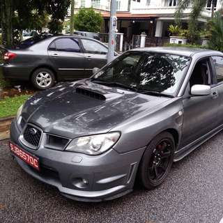 Subaru wrx 2.5M turbo 2008 Version 9