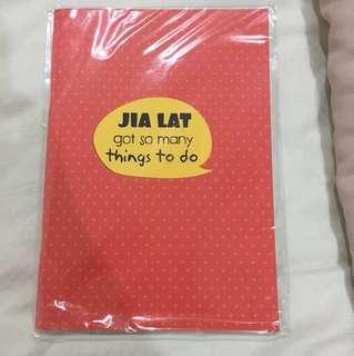 Jia lat for so many things to do