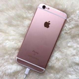 Iphone 6s Rosegold 16gb full set inter Jual RUGI