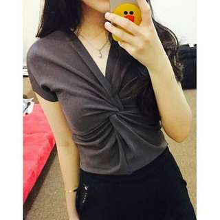 Ribbon croo top