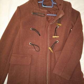 BN Dotti maroon/deep red duffle coat