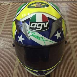 AGV TI TECH LIMITED EDITION HELMET (ALEX BARROS)
