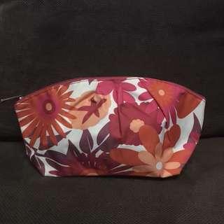 Clinique floral makeup bag - brand new