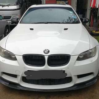 BMW M3 COUPE 40000cc v8 manual gearbox