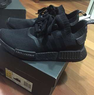 JAPAN TRIPLE BLACK NMD