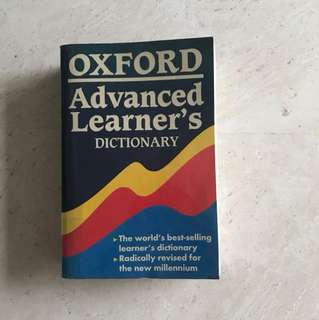 Oxford advanced learners dictionary 6th edition