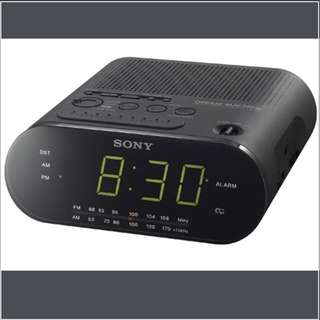 Sony Digital Alarm Clock ICT-C218 - Black
