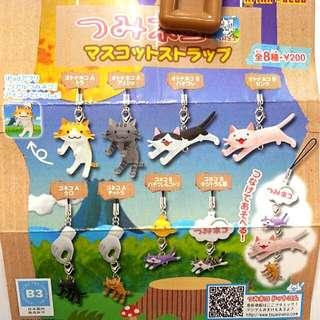 串串貓吊飾日本奇譚絕版少見