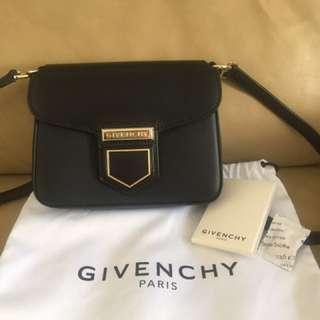 90%new Givenchy Black Nobile Mini Cross-body Bag