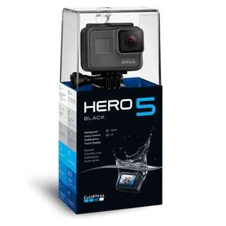 New GoPro Hero5 Hero 5 (Malaysia Set)
