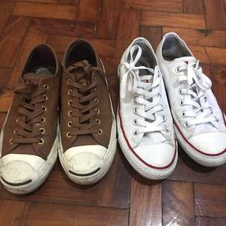 CONVERSE CHUCK TAYLOR AND JACK PURCELL