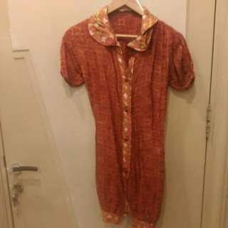 Retro Batik Dress / Tunic
