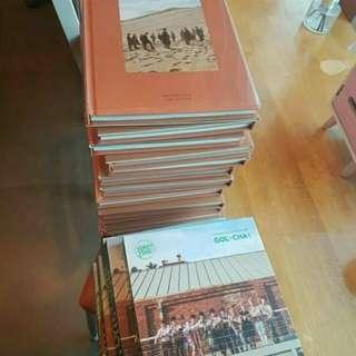 READYSTOCK new but unsealed Seventeen Album (Teen, Age) & Golden Child Album (Gol-Cha!)