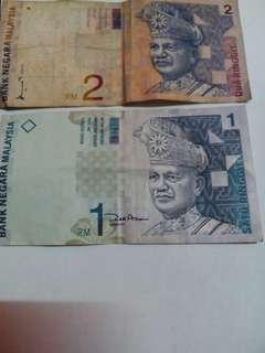 Wang Kertas Lama,duit syiling lama