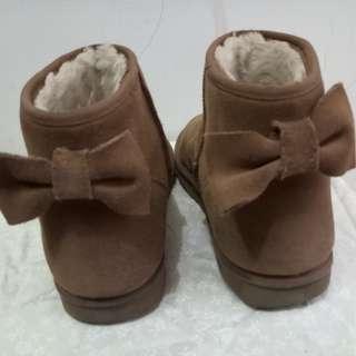 (二手)厚底底統雪靴(5成新)