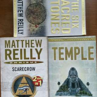 Books - Fiction stories by Matthew Reilly