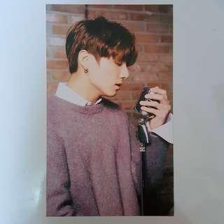 BTS Jungkook MEDIHEAL Postcard
