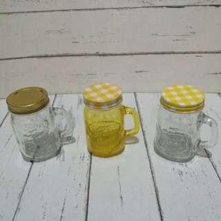 Mini Mason Jars Set