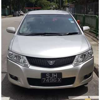 Grab Partner $36/day Toyota Allion 1.5A