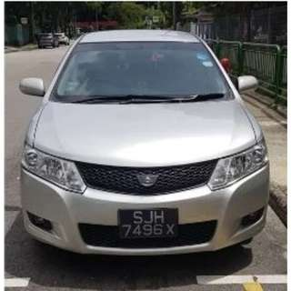 Grab Partner $36/day  TOYOTA ALLION 1.5 A
