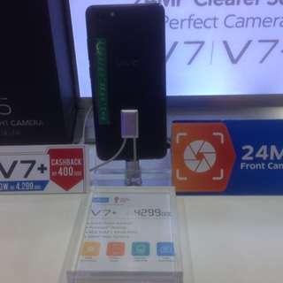 VIVO V7+ Promo Cash Back 400k & Free Admin