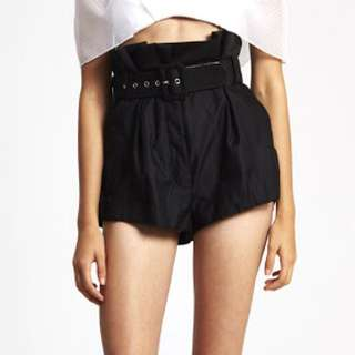 Alice McCall Silver Soul Shorts Size 8