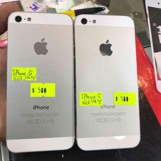 iPhone 5 16gb 一年店舖保養