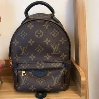 LV mini Palm Spring backpack