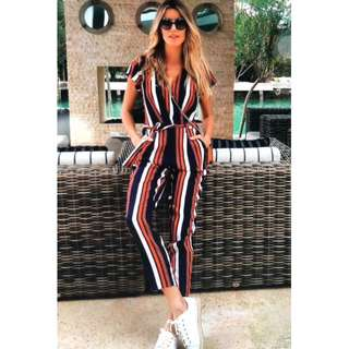 Striped Jumpsuit [OUT OF STOCK]