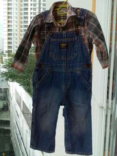 FREE POSTAGE Authentic Overall Oshkosh