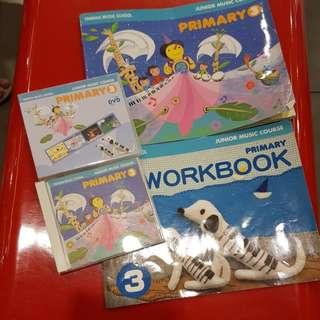 Yamaha JMC primary 3 books only.