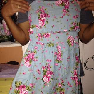 Hip Culture Floral Tube Dress