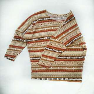 Knitted Top blouse