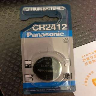 Panasonic CR2412 Battery 電池