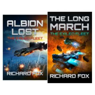 The Exiled Fleet (2 Book Series) BY Richard Fox (or buy individually)
