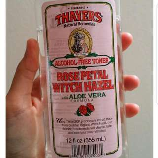 Thayers Rose Witch Hazel Toner