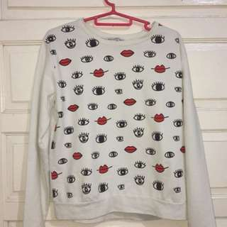 Sweater cotton ink