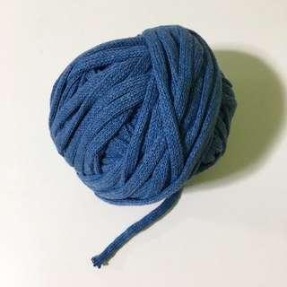 Tubular Cotton Yarn - Smoky Blue (200g)