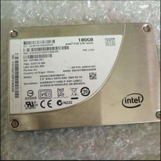 "Rare Intel 520 series 180gb SSD 2.5"" SATA 3"